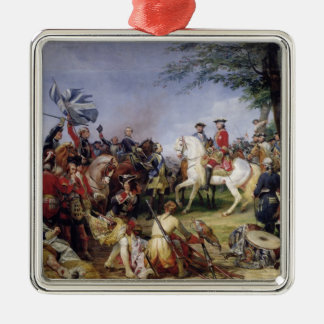 The Battle of Fontenoy, 11th May 1745, 1828 Silver-Colored Square Decoration