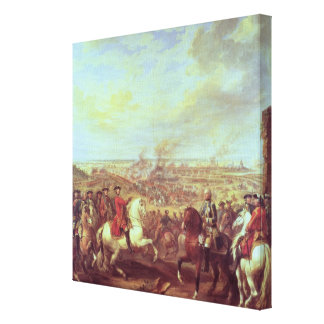 The Battle of Fontenoy, 11th May 1745 Canvas Print