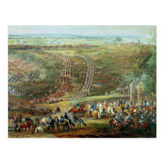 The Battle of Fontenoy, 11th May 1745 Postcard