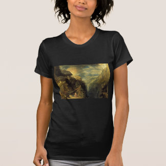 The Battle of Fort Rock, Val d'Aoste, Piedmont by Tee Shirt