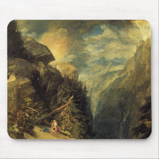 The Battle Of Fort Rock, Val Daoste, Piedmont Mouse Pad