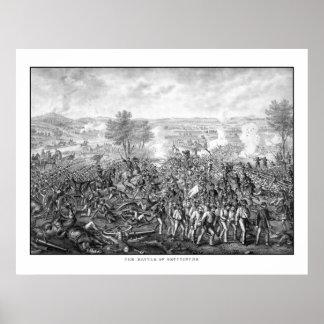 The Battle of Gettysburg Poster