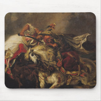 The Battle of Giaour and Hassan Mouse Mat