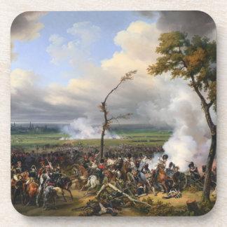 The Battle of Hanau by Horace Vernet (1824) Beverage Coasters