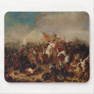 The Battle of Hastings in 1066 Mouse Mat