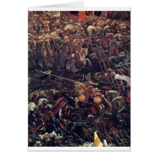 The battle of Issus(fragment) Albrecht Altdorfer Greeting Card