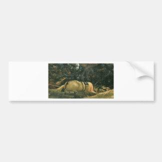 The battle of Issus(fragment) by Albrecht Altdorfe Bumper Sticker