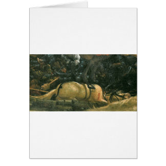 The battle of Issus(fragment) by Albrecht Altdorfe Greeting Card