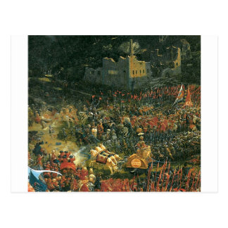 The battle of Issus(fragment) by Albrecht Altdorfe Postcard