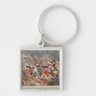 The Battle of Jemmapes,printed by Basset Key Ring