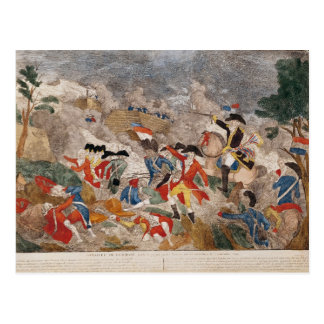 The Battle of Jemmapes,printed by Basset Postcard