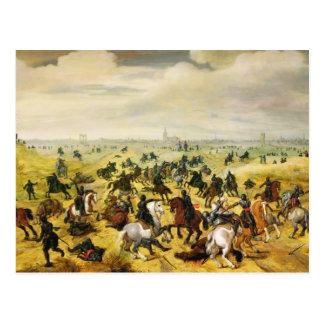 The Battle of Leckerbeetje, 1600 Postcard