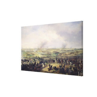The Battle of Leipzig, 16-19 October 1813 Canvas Print