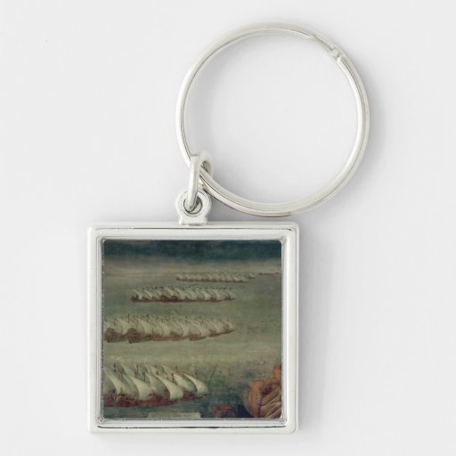 The Battle of Lepanto, 7th October 1571 Key Chains
