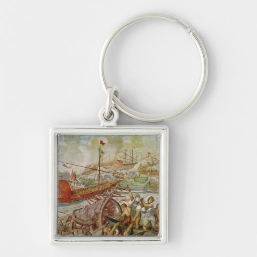 The Battle of Lepanto, October 1571, 1600 Keychains