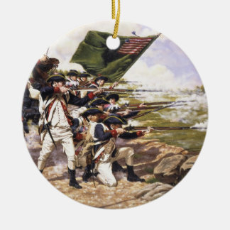The Battle of Long Island by Domenick D'Andrea Christmas Ornament