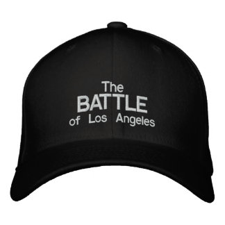 The Battle of Los Angeles Embroidered Baseball Cap