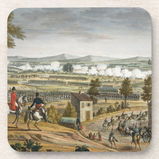 The Battle of Lutzen, 2 May 1813, engraved by Edme Beverage Coasters