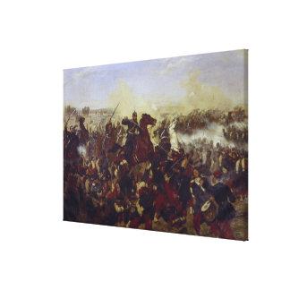 The Battle of Mars de la Tour Canvas Print