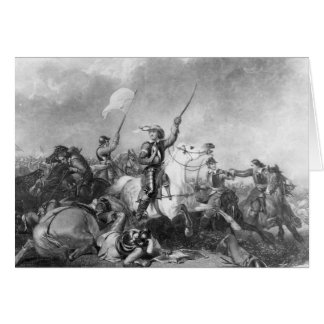 The Battle of Marston Moor, 2nd July 1644 Card