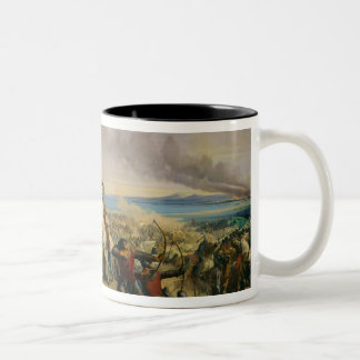 The Battle of Montgisard Two-Tone Coffee Mug