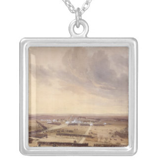 The Battle of Montmirail Silver Plated Necklace