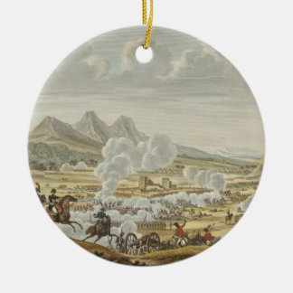 The Battle of Mount Tabor, 27 Ventose, Year 7 (17 Round Ceramic Decoration