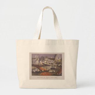 The Battle of New Orleans by Thomas S. Sinclair Large Tote Bag