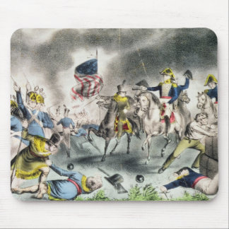 The Battle of New Orleans, pub.Nathaniel Currier Mouse Mat