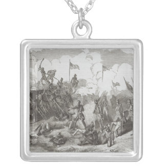 The Battle of New Orleans Silver Plated Necklace