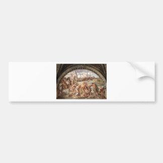 The Battle of Ostia by Raphael Bumper Sticker