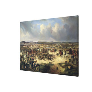 The Battle of Paris on 17th March 1814, 1834 Stretched Canvas Print