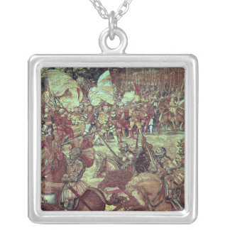 The Battle of Pavia, 24 February 1525 Silver Plated Necklace