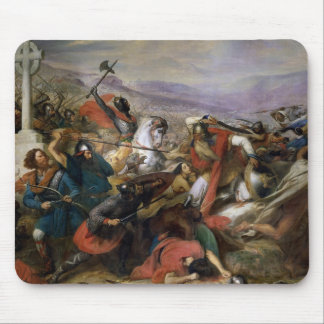 The Battle of Poitiers, won by Charles Martel Mouse Pad