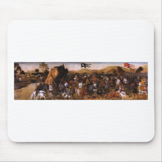 The Battle of Pydna by Andrea del Verrocchio Mouse Pad