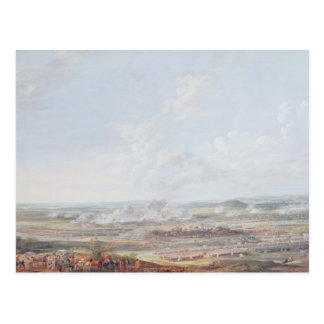 The Battle of Rocoux, 11th October 1746, 1784 Postcard