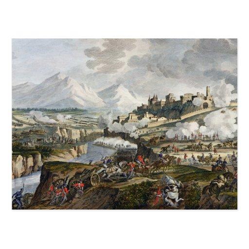 The Battle of Roveredo, 18 Fructidor, Year 4 (Sept Postcard