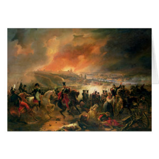 The Battle of Smolensk, 17th August 1812, 1839 Greeting Card
