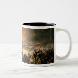 The Battle of Smolensk, 17th August 1812, 1839 Coffee Mug