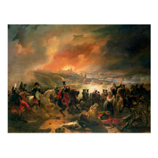 The Battle of Smolensk, 17th August 1812, 1839 Postcard