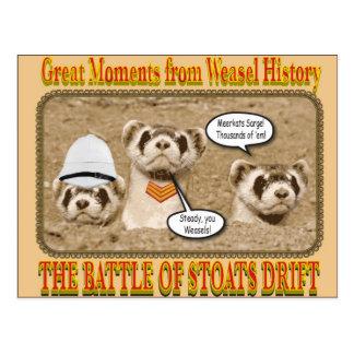 The Battle of Stoats Drift postcard