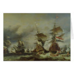 The Battle of Texel, 29 June 1694 Greeting Card