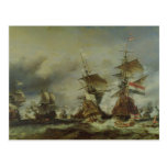The Battle of Texel, 29 June 1694 Postcard