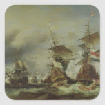 The Battle of Texel, 29 June 1694 Stickers