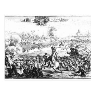 The Battle of the Boyne, July 1st 1690 Postcard