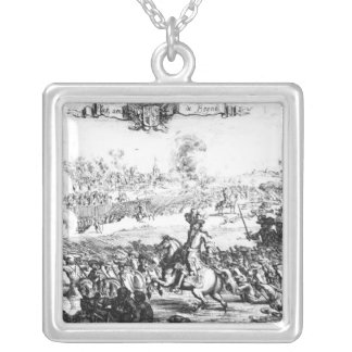 The Battle of the Boyne, July 1st 1690 Silver Plated Necklace