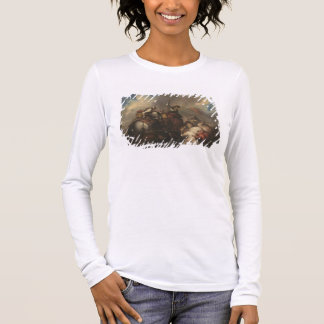 The Battle of the Cavaliers (oil on canvas) Long Sleeve T-Shirt