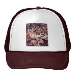 The Battle Of The Centaurs And Lapiths Detail Trucker Hat
