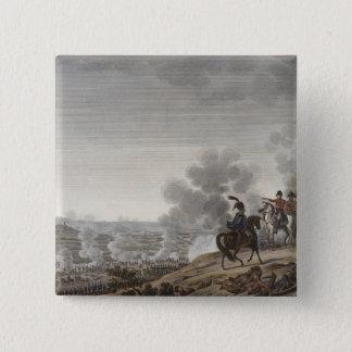 The Battle of the Moskva, 7 September 1812, engrav 15 Cm Square Badge