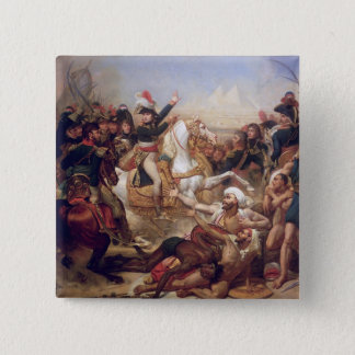 The Battle of the Pyramids, 21st July 1798 15 Cm Square Badge